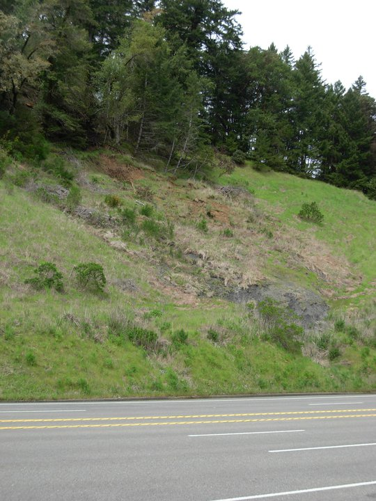 Benbow Hill slide