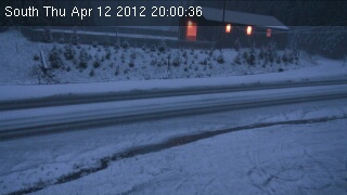 The Traffic Cam photo was taken at 8 P.M.